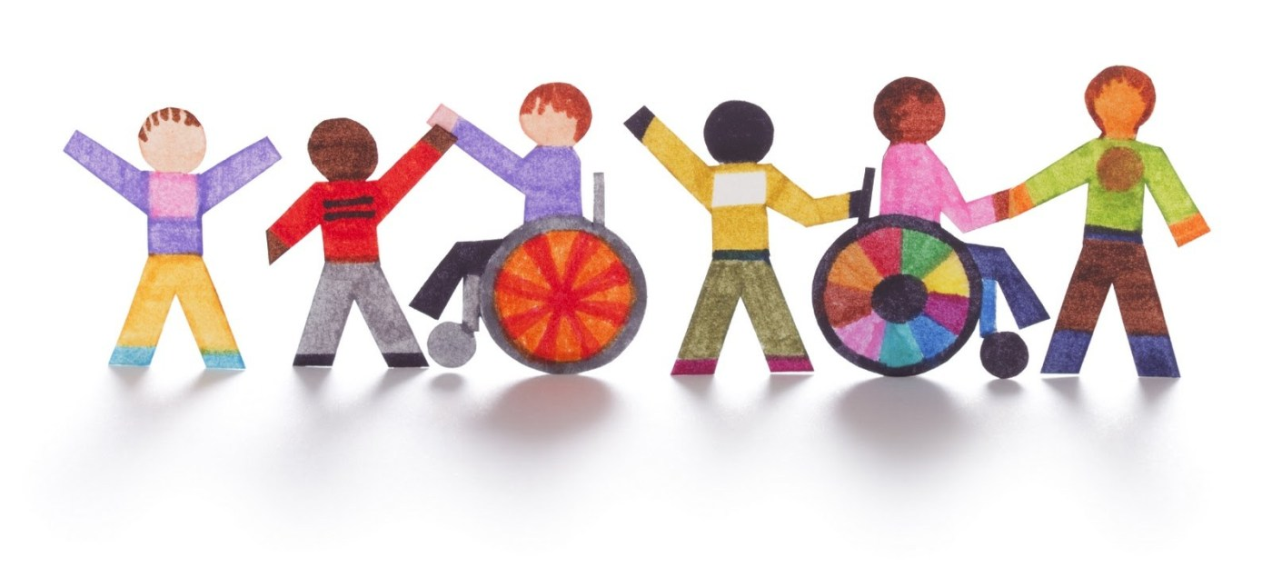 clipart of children of various abilities
