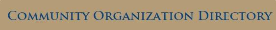 community organizations link