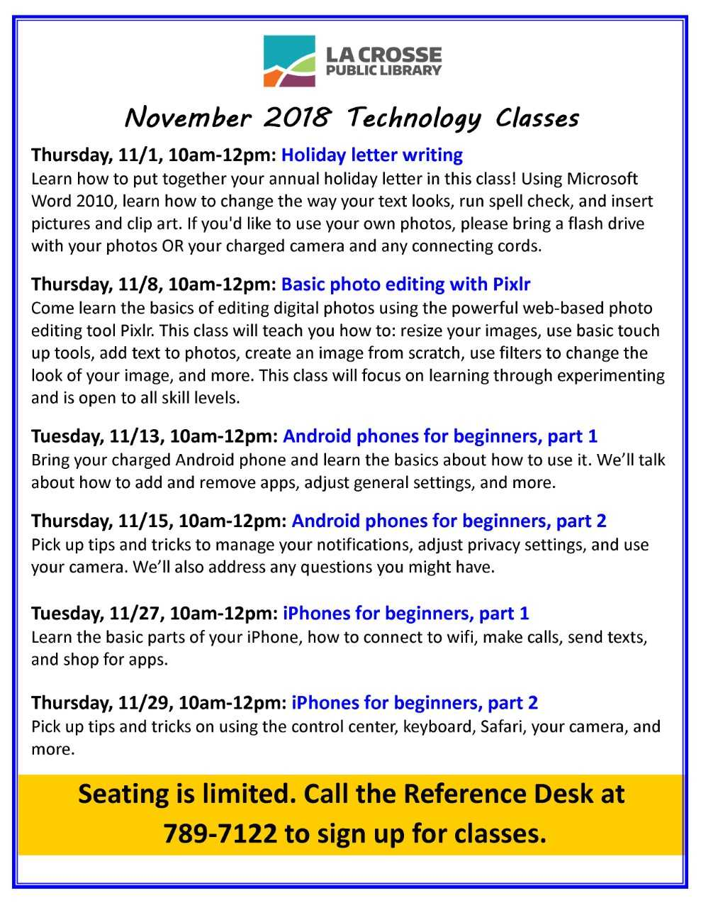 Technology Class: Android Phones for Beginners, Part 2 | La Crosse